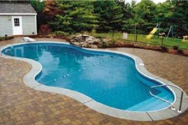 Oasis pools swimming pools for 16x32 pool design